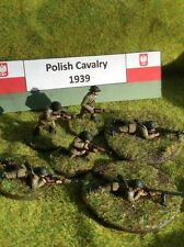 EWM PolCav35 1/76 Diecast Polish Cavalry Dismounted with ATR and LMG-10 Figures