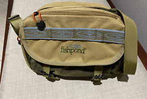 FishPond Waist Pack - Lumbar Tackle Fanny - Fishing Bag GREEN