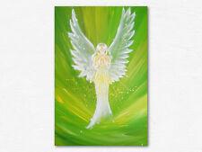 """Schutzengel Energiebild """"Die Engelliebe spüren"""" Engelbild Wandposter spirituell"""