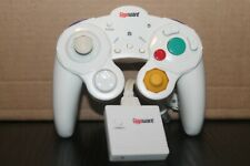 Gigaware Nintendo Wii And GameCube Wireless Controller Classic White Gamepad