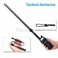 Tactical Antenna SMA-Female Dual Band VHF UHF 144/430Mhz For Abbree AR-819 ◆. w