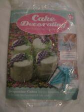 Deagostini Cake Decorating Magazine ISSUE 154 WITH GRAPEVINE PEG EMBOSSERS