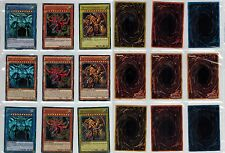 9 Different Artworks Egyptian God Cards Slifer, Obelisk, Ra LC01, LDK2,YGLD