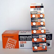 1000 NEW LR44 MAXELL A76 L1154 AG13 357 SR44 303 BATTERY Expiration date 12-2020