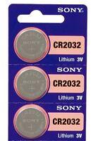 3 ★ Pilas SONY Lítio ★ CR2032 ★ ENVÍO GRATUITO ★ 3 voltios / Lithium Batteries