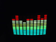 SOUND MUSIC Activated LED LIGHT UP FLASHING EQUALIZER concert DJ PARTY HAT CAP