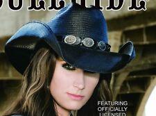NEW TERRI CLARK Country Western Straw Cowboy Hat Montecarlo Bullhide NWT MEDIUM