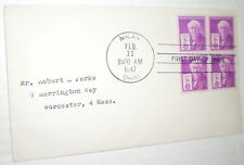First Day Cover – Thomas A. Edison 3-Cent Commemorative (1947)
