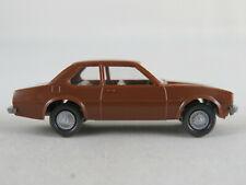 Wiking 80/5C Opel Ascona B (1975-1979) in lehmbraun 1:87/H0 guter Zustand