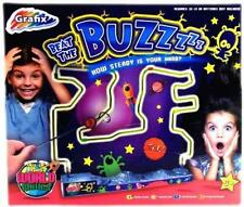 Grafix Beat the Buzzer Steady Hand Co-ordination Metal Wire Kids Family Game New