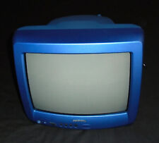 Grundig  P37-1010A CRT TV Retro Gaming Video Games Blue 14 inch Tested