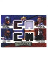 2016 Upper Deck Captain America Civil War Costume Card Broken Bonds BB-CFTB