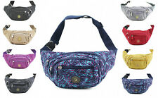 Ladies Women Fashion Bum Bag Fanny Money Wallet Travel Holiday Waist Belt Pouch