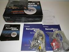 Geovision GV-1480 16 Ch Surveillance System Combo Card + Guides, CD & Cables