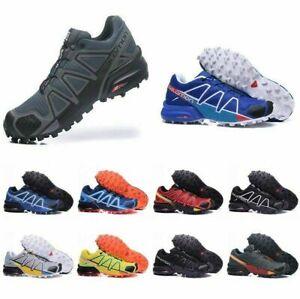 2021 Uomo Salomon Speedcross 4 Athletic Running Sports Outdoor Hiking Shoes NEW