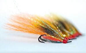 THE GHILLIE DOUBLE HOOK SALMON FLIES.