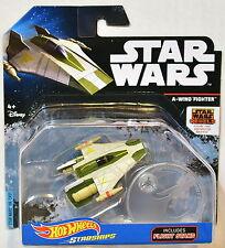 hot wheels star wars 2016 Starships W / Vol A-Wing de combat