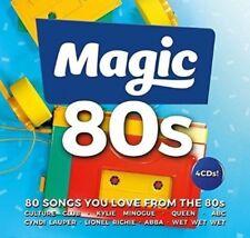VARIOUS - MAGIC 80's BRAND NEW 4CD BOXSET