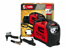 TELWIN saldatrice inverter elettrodo 80 A DC MMA + accessori FORCE 125 815872