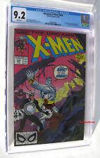 UNCANNY X-MEN #248 CGC 9.2 NM- 1ST JIM LEE Art on XMen 1989 Longshot Leaves Team