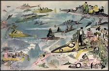 Futurist View of Paris : Albert Robida : circa 1902 : Fine Giclee Print