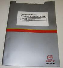 Werkstatthandbuch Seat Ibiza Cordoba Instandhaltung genau ab Baujahr 2002!
