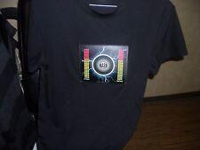 Men's Audio Sound Activated Bass Shirt size S