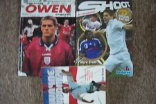 3 ASSORTED FOOTBALL BOOKS-ROONEY-OWEN-SHOOT ANNUAL
