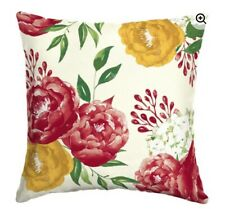 Mainstay Floral 16 in Square Outdoor Toss Pillow