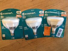 3 Pack Ecosmart BR40 90w Replacement Soft White