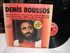 33 TOURS / LP--DEMIS ROUSSOS--LE DISQUE D'OR / ENREGISTREMENTS ORIGINAUX