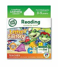 LeapFrog Explorer Game: Letter Factory for LeapPad & Leapster