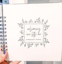 Pregnancy Minimalist Journal, Gender Neutral Memory Book