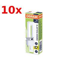 10 x OSRAM Dulux S 5 Watt 830 G23 2-Pin Warmweiß Kompaktleuchtstofflampe 5W 2P