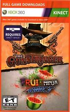 The Gunstringer / Fruit Ninja Kinect Digital DLC Code for XBOX 360