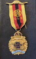RAOB - Royal Antediluvian Order Of Buffaloes - MEDALLION - Royal Elizabeth Lodge