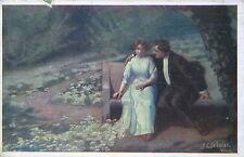 Erster Weltkrieg (1914-18) Frankierte Kunst-& Kultur-Ansichtskarten für Künstlerkarte