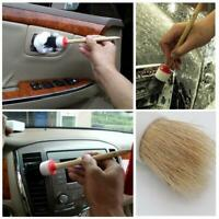 Wash Auto Interior Soft Bristle Car Brush Auto Detailing Wood Tool New