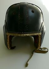 ANTIQUE LEATHER FOOTBALL HELMET RAWLINGS 759