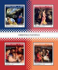Sierra Leone 2018 Christmas paintings S201812