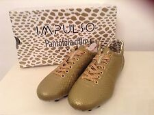 Impulso Pantofola d'Oro Size Eu39 UK6.5 Brand New: Pitone Gold Football Studs