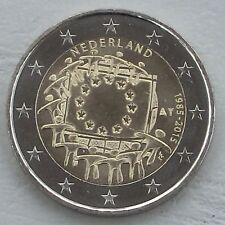 2 Euro Niederlande 2015 30 Jahre Europaflagge unz.