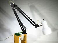 Vintage Swing Arm Articulating Desk Table Lamp Architect Drafting Adjustable