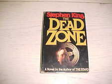1979 The Dead Zone Book HCDJ Stephen King Author The Stand