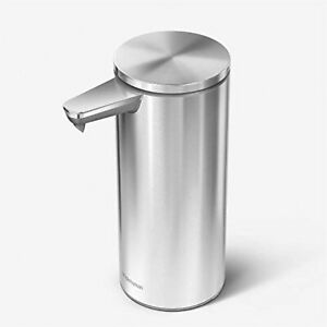 simplehuman (9 oz.) Touch-Free Rechargeable Sensor Liquid Soap Pump Dispenser