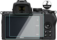 (2 Packs) Nikon Z 50 Screen Protector, Tempered Glass Touch Screen for Z50