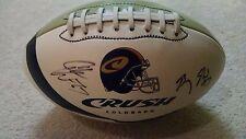 AFL Arena Football League 2004 Colorado Crush Autographed Photo Football