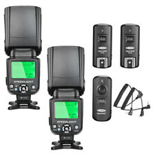 NW-562C E-TTL Flash Speedlite 2pcs with Trigger Set for Canon DSLR Camera