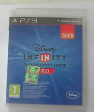 PS3 DISNEY INFINITY 2.0 ONLY CD GAME SOFTWARE CD +BOX  PAL USED