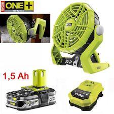 RYOBI 18V ONE+ Akku Ventilator R18F-0 Lüfter Fan 1,5 Ah Lithium Akku Ladegerät